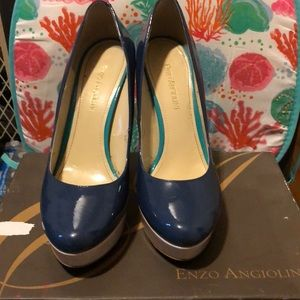 A pair of Enzo Angiolini heels